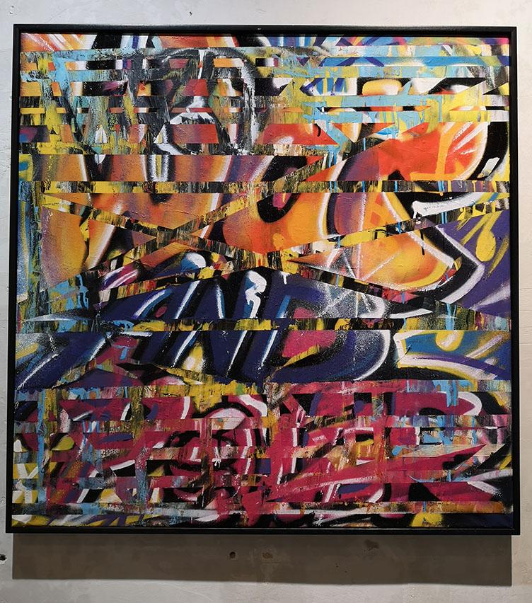 commissariat d'exposition signé Com for Art pour La Passerelle
